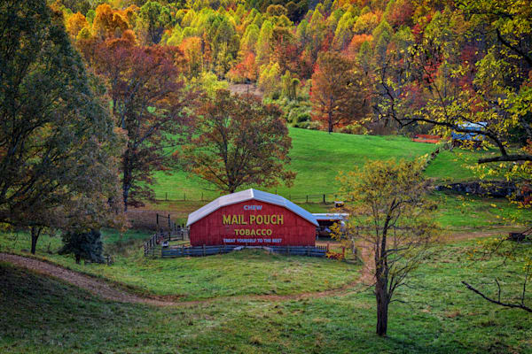 Mail Pouch Tobacco Barn | Shop Photography by Rick Berk