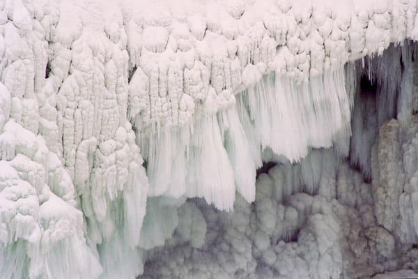 Middle Falls Frozen