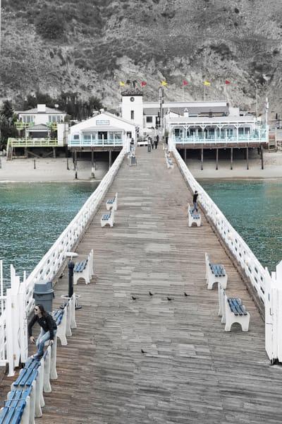 Malibu Pier   Full Pier Photography Art   Rosanne Nitti Fine Arts