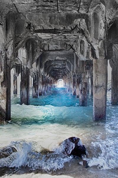Mala Wharf   Vertical 2  Photography Art | Rosanne Nitti Fine Arts