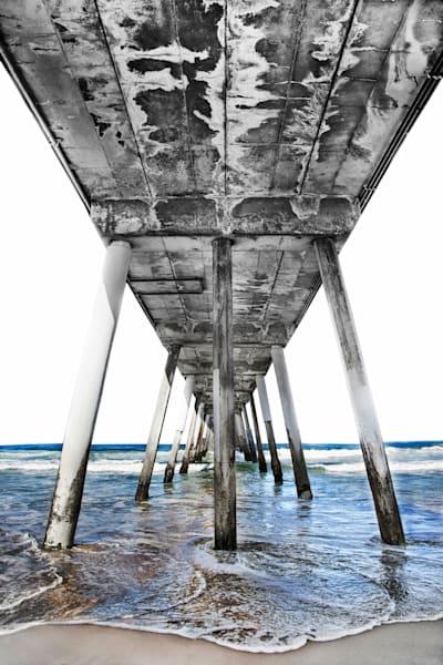 Hermosa Beach Pier Photography Art | Rosanne Nitti Fine Arts