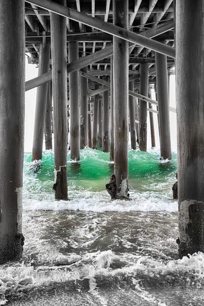 Malibu Under The Pier Photography Art | Rosanne Nitti Fine Arts