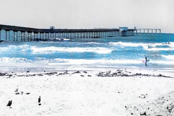 Ocean Beach Pier Photography Art   Rosanne Nitti Fine Arts