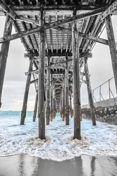 Seal Beach Under The Pier Photography Art | Rosanne Nitti Fine Arts