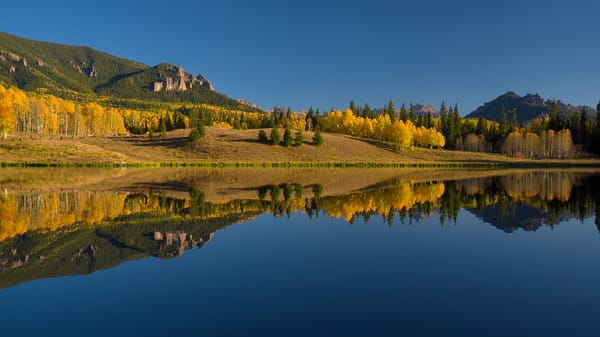 Autumn Reflections at Beaver Lake