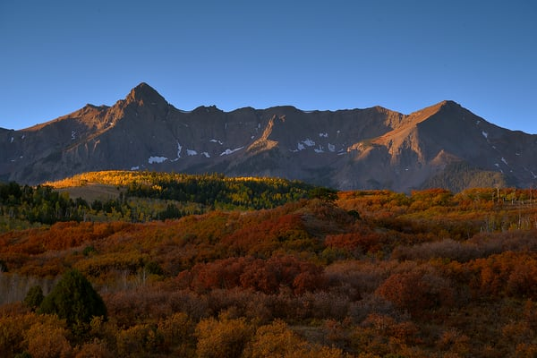 A Golden Mount Sneffels Morning