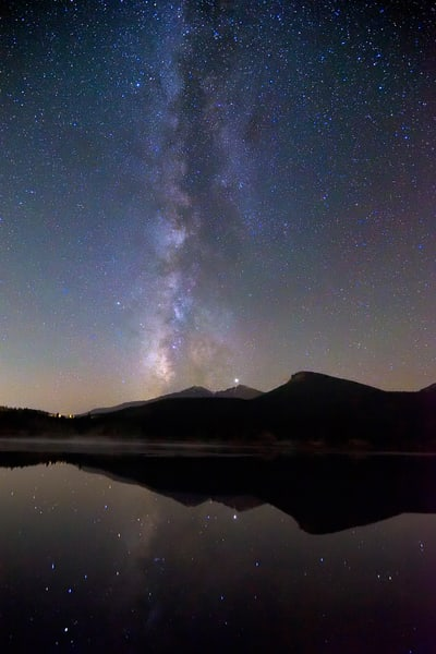 Milky Reflections at Lily Lake
