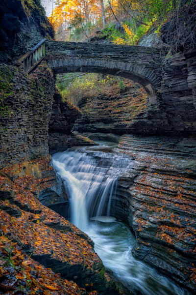 The Footbridge Over Rainbow Falls | Shop Photography by Rick Berk
