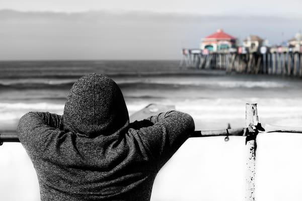 Huntington Beach Hoodie Photography Art | Rosanne Nitti Fine Arts