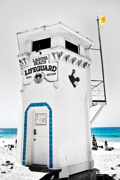 Lifeguard Laguna Photography Art | Rosanne Nitti Fine Arts