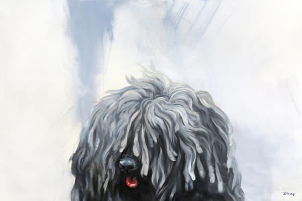 Another Shaggy Dog Story Original Art | Van Isle Dog Art