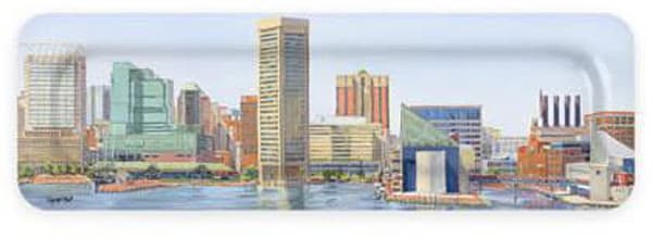 Our Harbor From Fed Hill Art Tray