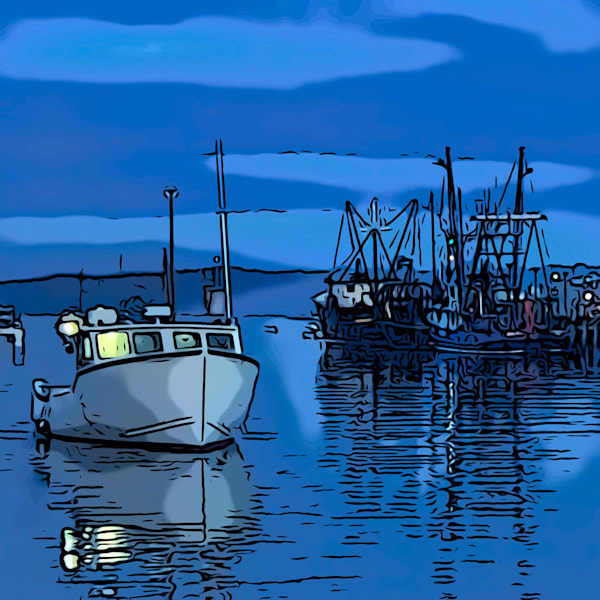 Blue Dawn Art | capeanngiclee
