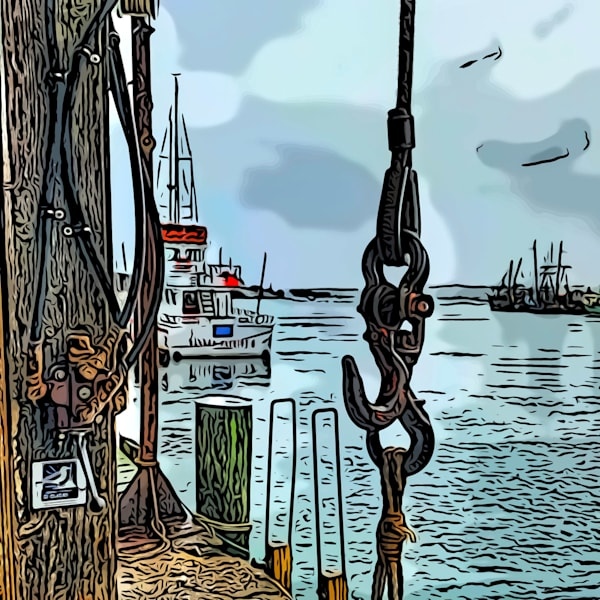Waiting For Boats Art | capeanngiclee