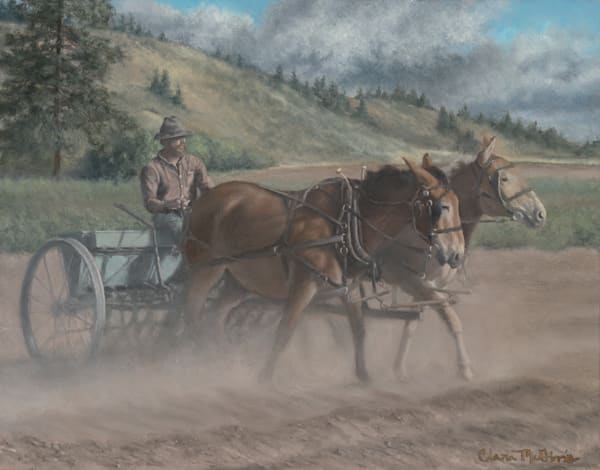 Clara McGinnis - Sowing in the Cover Crop