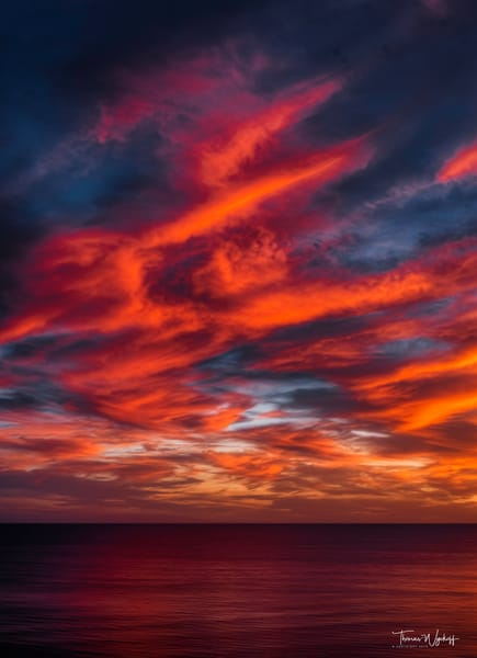 Fire In The Sky Ii, 2019 Photography Art | Thomas Wyckoff Photography