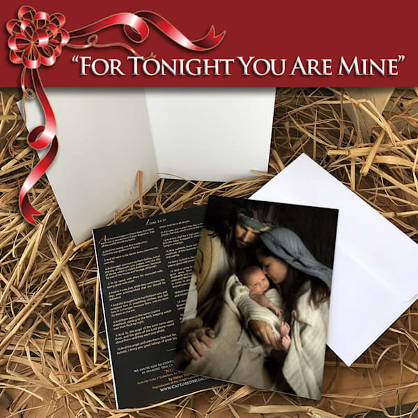 For Tonight You Are Mine Greeting Card (10 Pack Of Cards + Envelopes) | Captured Miracles Production, and Helen Thomas Robson byDESIGN