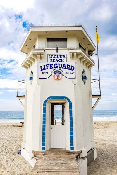 "Laguna Lifeguard ""See Through"" Photography Art | Rosanne Nitti Fine Arts"