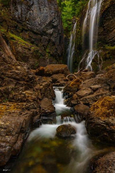 Chocolate Flow Henline Falls Opal Creek Wilderness Oregon
