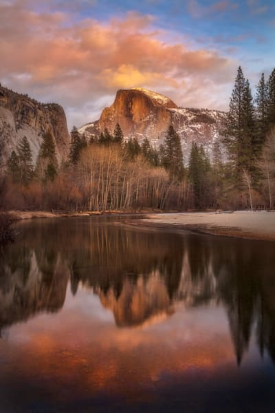 Half Dome Reflections | Yosemite National Park by Charlotte Gibb