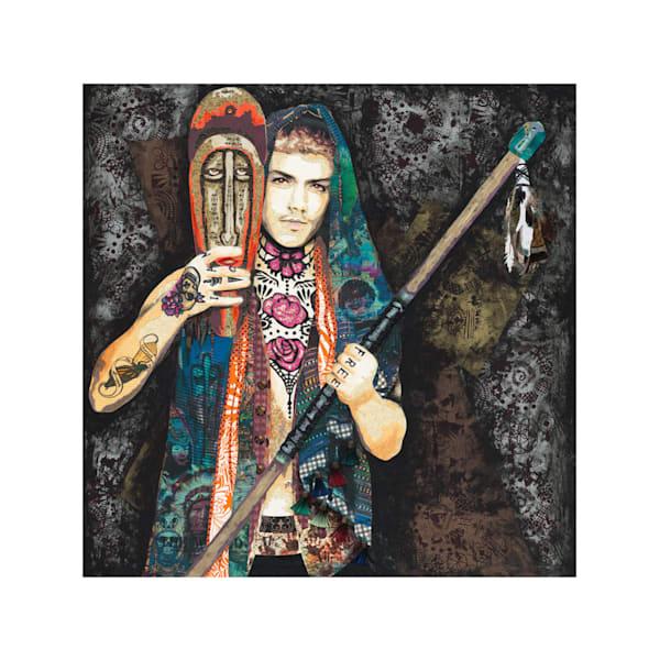 North American Male Warrior
