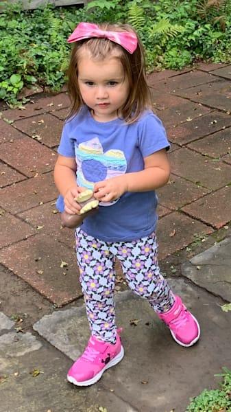 Children's Legging Fleur D'Equine