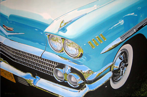 58 Chevy Impala Art | RPAC Gallery