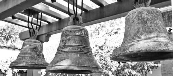 M Ission San Luis Obisbo Bells Photography Art | Rosanne Nitti Fine Arts
