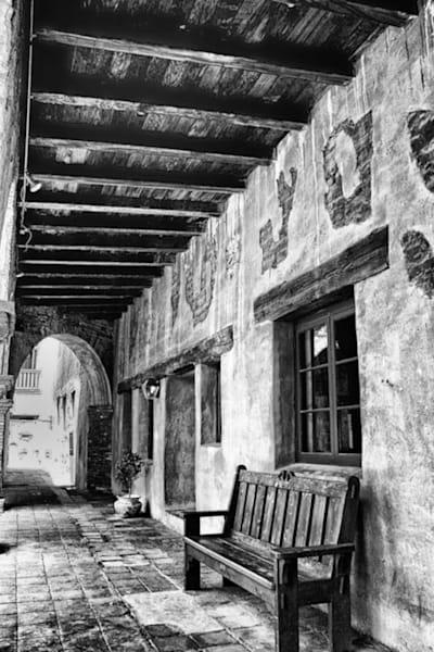 Mission San Juan Capistrano   Hallway Photography Art | Rosanne Nitti Fine Arts