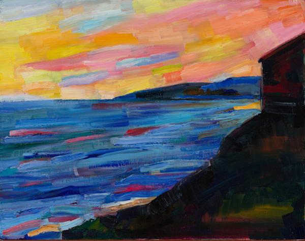 Twilight. Study For Sonnet 73 Art   Sonnets in colour