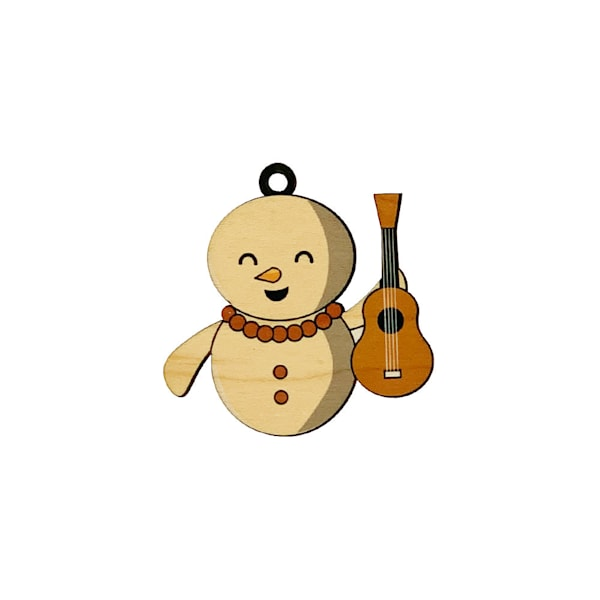 Sandman Ukulele Son Ornament