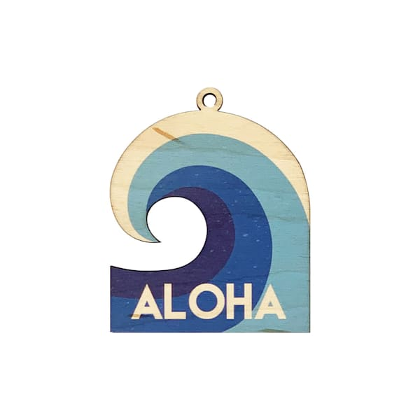 Aloha Wave Ornament