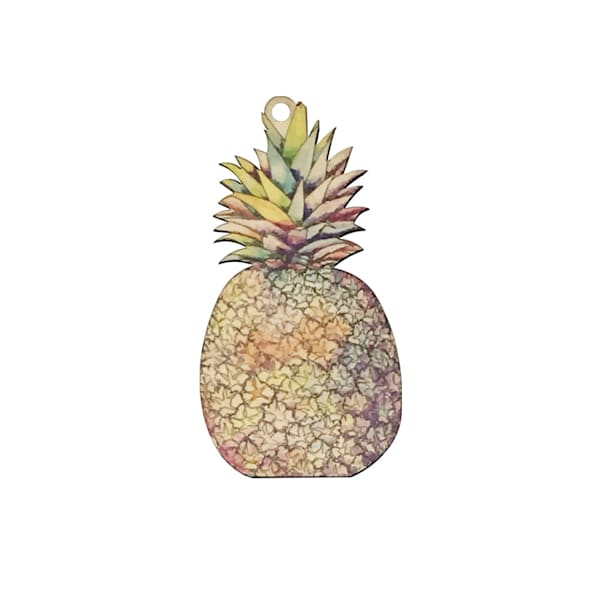 Sunset Pineapple Ornament