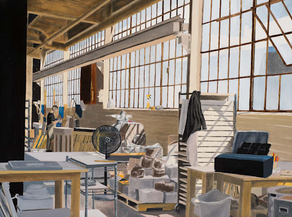 The Tile Factory Art | Brendan Kramp Studio & Workshop