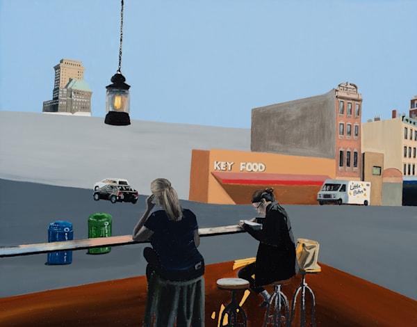 Brooklyn Swallow Cafe Art | Brendan Kramp Studio & Workshop