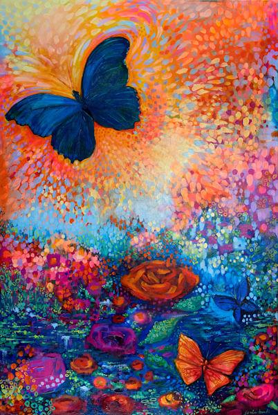 Freedom 2, Original Painting Art   Jessica Hughes Fine Art