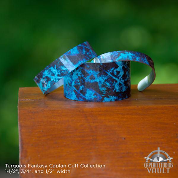 Turquoise Fantasy Caplan Cuff   Caplan Studios Vault, LLC