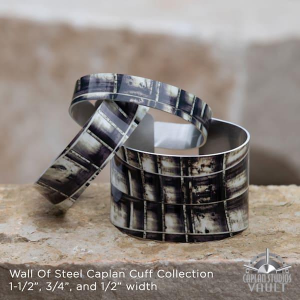 Wall Of Steel Caplan Cuff   Caplan Studios Vault, LLC