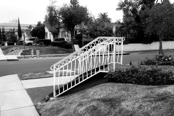 Hand Railing, Beverly Hills Photography Art | Peter Welch