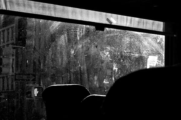Window, Chinatown Bus Photography Art   Peter Welch