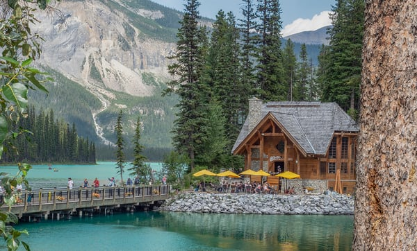 Emerald Lake - fine art photography prints - Banff Canada - Yoho National Park