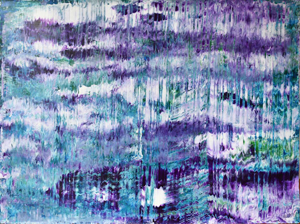 Purple Abstract Ii Art | RPAC Gallery