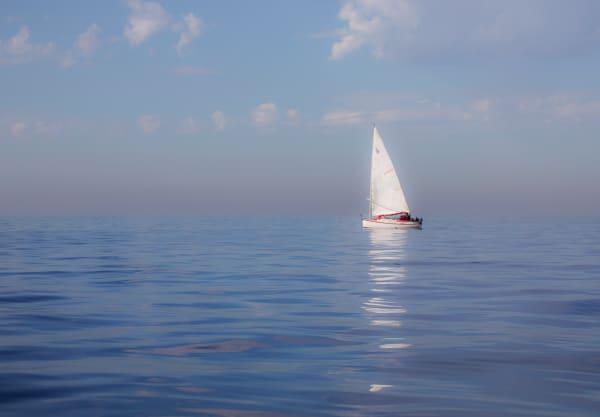 Dreamy Sailboat Photography Art | Leiken Photography