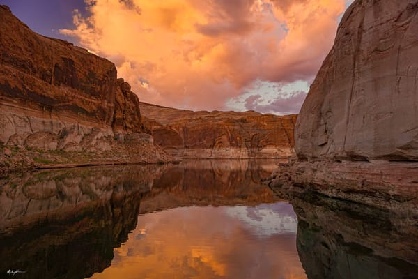 Pristine Lake Powell Sunrise