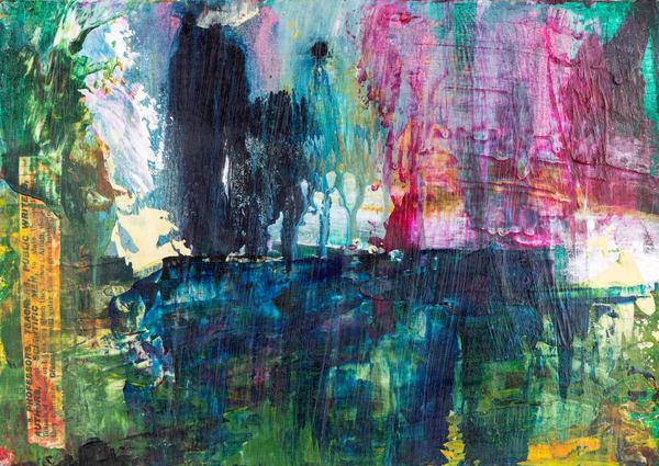 The Colour Of Rain I Art | Éadaoin Glynn
