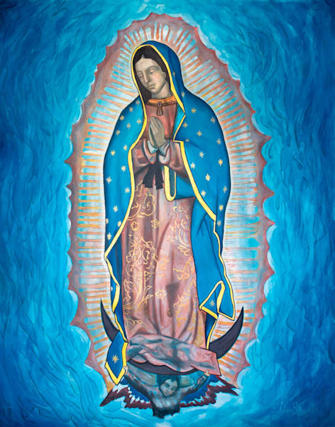 Our Lady Of Guadalupe (Limited Edition) Art | Adam Schwankl