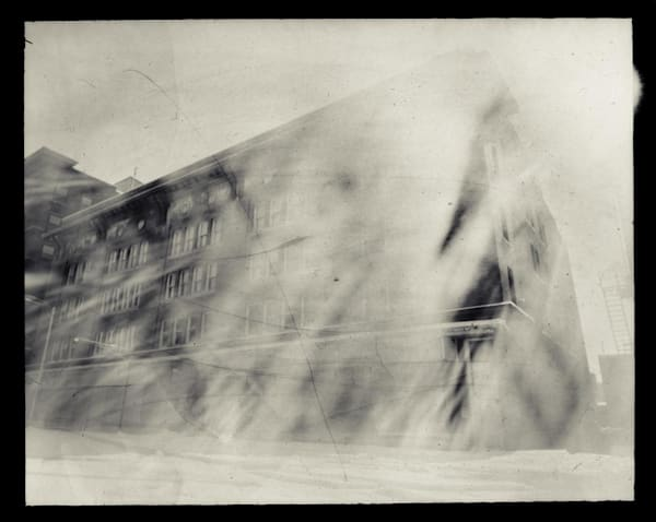 Sears Building, Exterior (paper negative, 8x10 pinhole camera from a sheet of cardboard, lens: broken window glass)