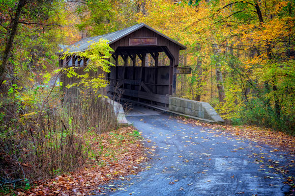 Autumn at Herns Mill Bridge | Shop Photography by Rick Berk