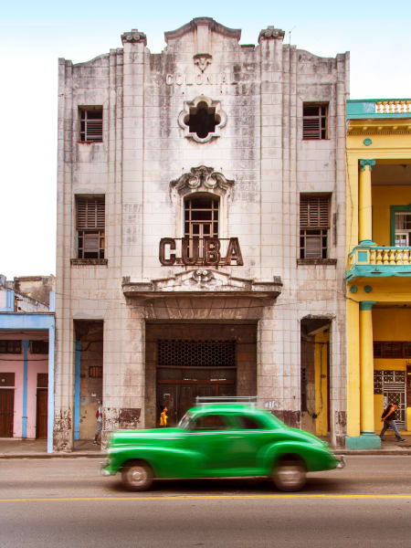 Cuba Green: Fine Art Photography by Shane O'Donnell