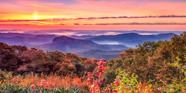 Autumn At Looking Glass Rock Art | Red Rock Photography